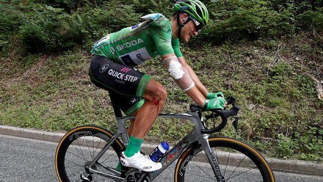 Marcel Kittel na trati letošní Tour de France.