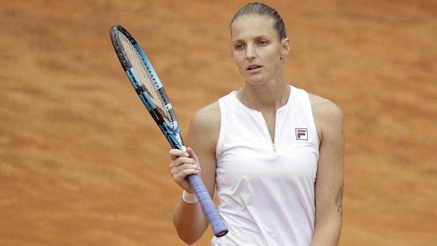 Karolína Plíšková další titul v Římě nezískala, ve finále ji deklasovala Polka Iga Šwiateková
