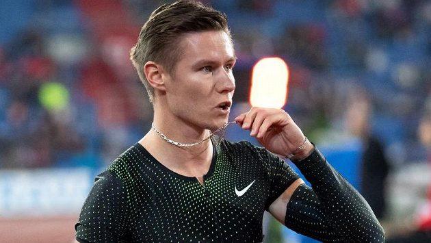 Český čtvrtkař Pavel Maslák patří mezi největší hvězdy české atletiky