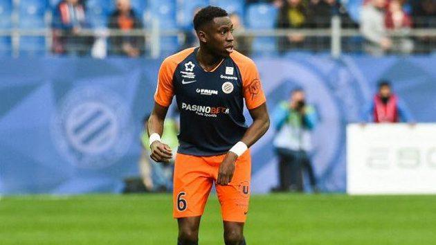 Fotbalista Montpellieru Junior Sambia.