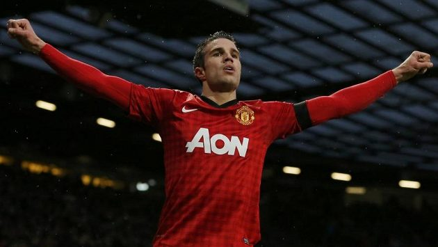 Manchester United se na svého kanonýra Robina van Persieho může spolehnout, trefil se i proti Evertonu.