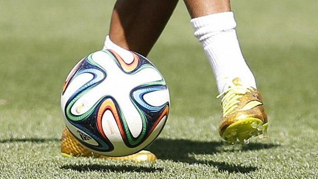 Zlaté botky zlatého brazilského dítěte Neymara...