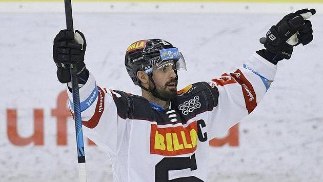 Autor pátého gólu Michal Řepík ze Sparty.