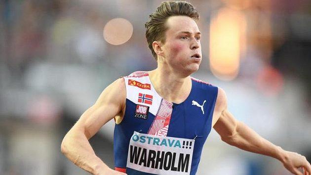 Norský atlet Karsten Warholm