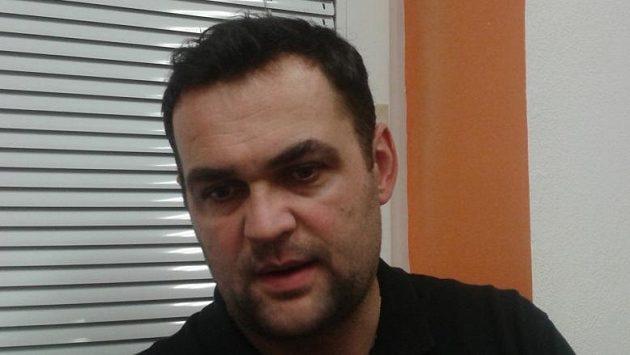 Děčínský trenér Pavel Budínský.