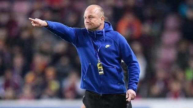 Trenér Slovanu Liberec Pavel Hoftych