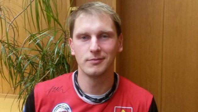Kapitán českobudějovických volejbalistů Radek Mach.