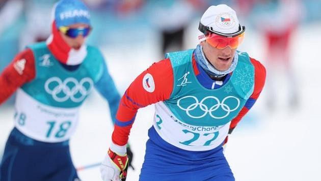 Martin Jakš na olympijské trati.