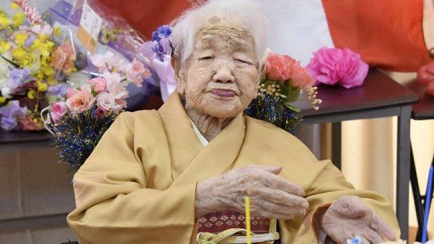 Nejstarší žijící osoba na světě Kane Tanakaová