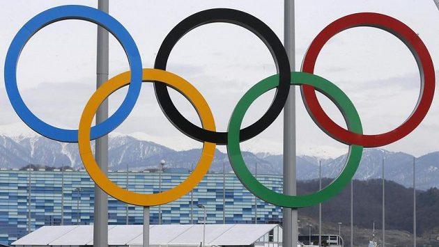 Olympijské kruhy v Soči.