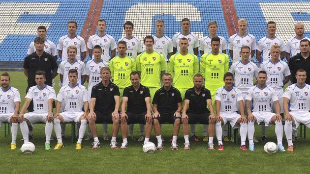 Tým Baníku Ostrava před startem sezóny 2013/14.