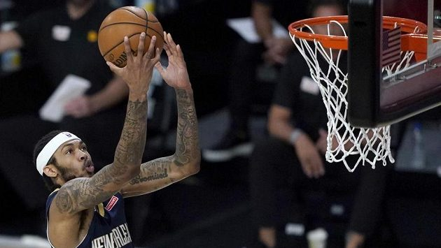 Basketbalista Brandon Ingram z New Orleans na snímku z července.