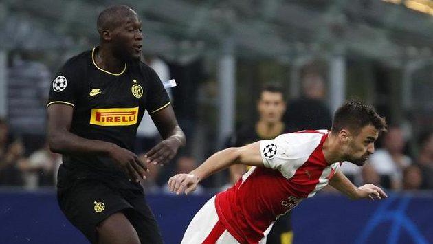 Sestřih zápasu Ligy mistrů Inter Milán - Slavia