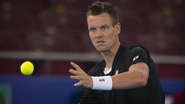 Český tenista Tomáš Berdych v úvodním zápase sezóny uspěl.