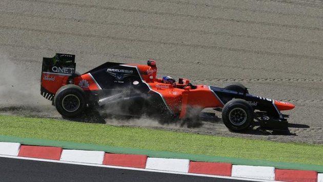 Španělská pilotka Maria de Villotaová nakoukla do formule 1 v barvách týmu Marussia.