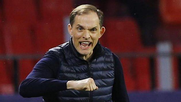 Trenér Chelsea Thomas Tuchel během odvety čtvrtfinále Ligy mistrů s Portem.