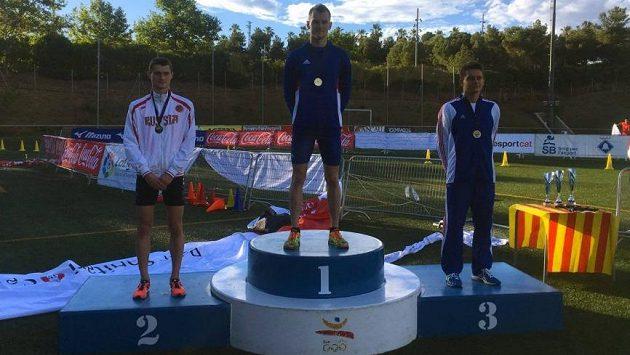 Moderní pětibojař Marek Grycz se stal juniorským mistrem Evropy. Češi přidali v Barceloně i další medaile