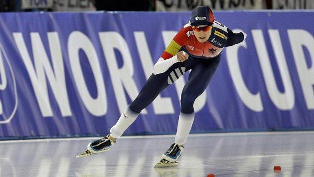 Martina Sáblíková skončila na trojce v Berlíně na bronzovém stupínku, podle svých slov ještě musí dohnat tréninkové manko.