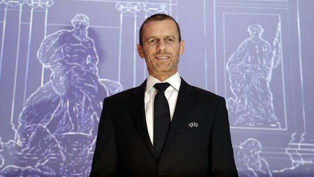 Čeferin byl jako jediný kandidát opět zvolen do čela UEFA