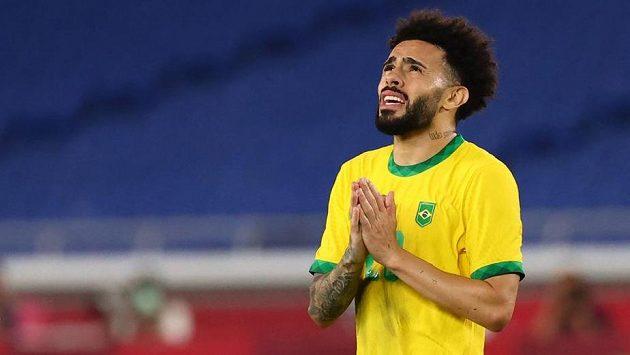 Brazilec Claudinho po triumfu na olympiádě.