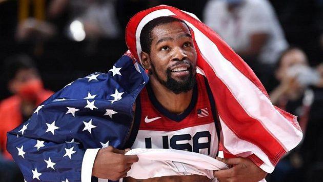 Kevin Durant se dohodl s Brooklynem na čtyřletém prodloužení stávající smlouvy