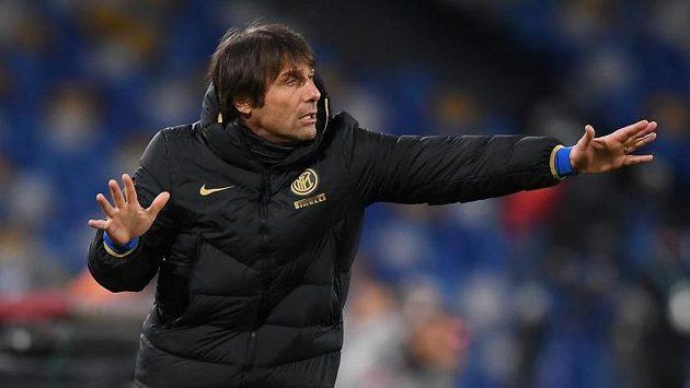 Italský trenér Antonio Conte nyní vede fotbalisty Interu Milán.