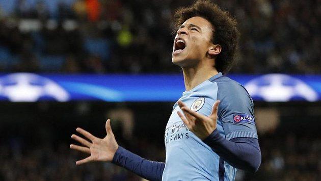 Leroy Sané, autor pátého gólu Manchesteru City proti AS Monaco. V tu chvíli se německého sázkaři zbortil sen o pohádkové výhře.