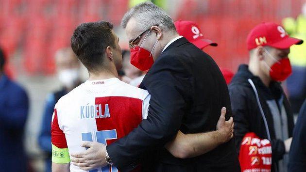 Ondřej Kúdela a Jaroslav Tvrdík.
