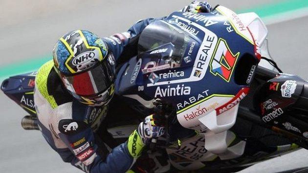 Karel Abraham obsadil v kvalifikaci na motocyklovou Velkou cenu Katalánska patnácté místo
