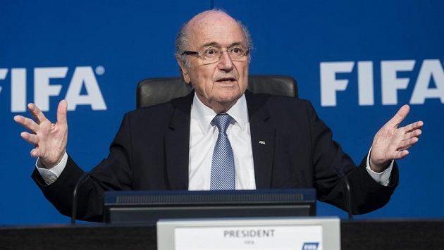 Prezident FIFA Sepp Blatter.