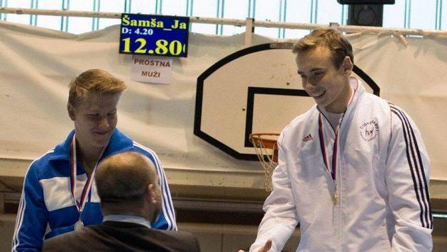 Archivní foto: David Jessen (vpravo) a Daniel Radovesnický.