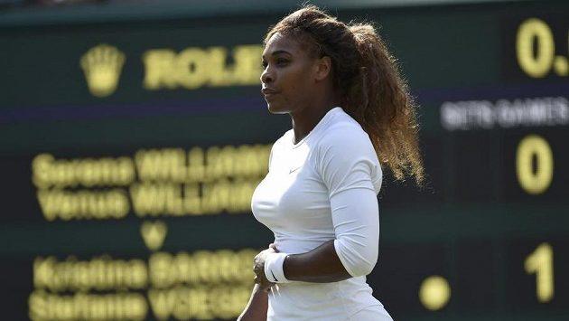 Serena Williamsová s rukou na bříšku. Je skutečně v radostném očekávání?
