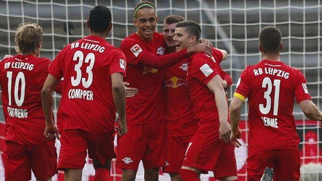 Fotbalisté Lipska, ilustrační foto