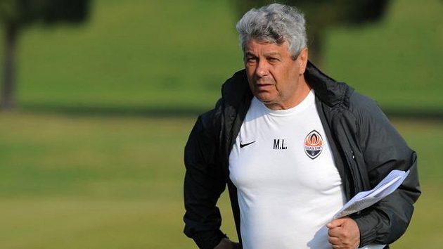 Rumunský trenér ukrajinského Šachtaru Doněck Mircea Lucescu.