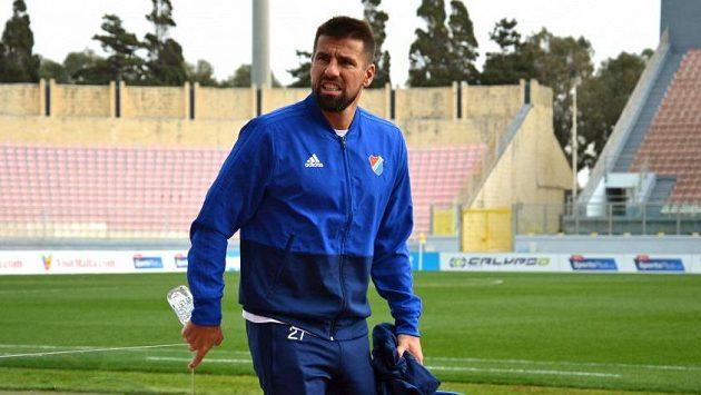 Milan Baroš ještě na Maltě.