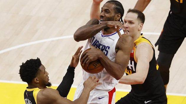 Basketbalisté Utahu začali vítězně čtvrtfinálovou sérii NBA s Los Angeles Clippers
