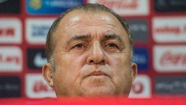 Zkušený kouč tureckých fotbalistů Fatih Terim.