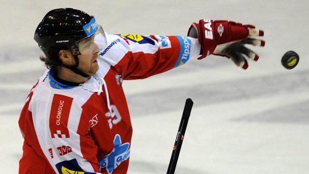 Autor vítězného gólu Olomouce Matěj Pekr.
