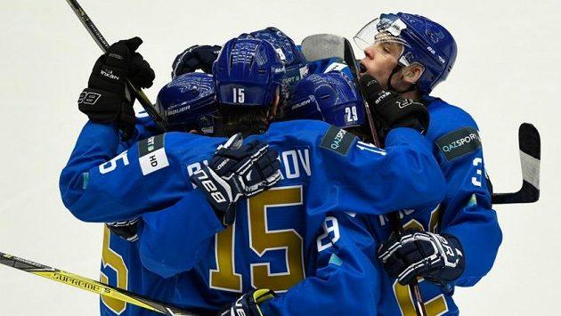 Hokejisté Kazachstánu. Ilustrační foto