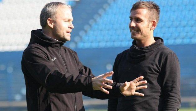 Miroslav Matušovič (vpravo) bude druhým asistentem trenéra Korytáře.
