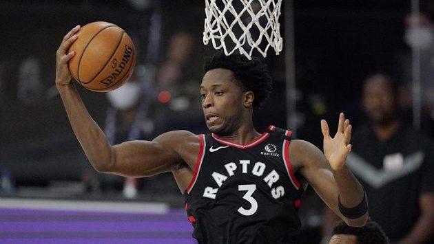 OG Anunoby byl hlavním hrdinou basketbalistů Toronta v utkání 2. kola play off NBA proti Bostonu.