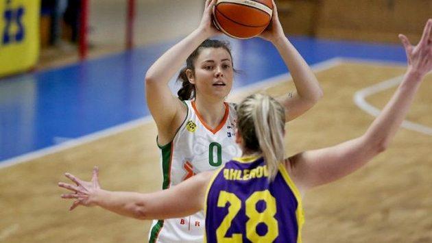 Ostravské basketbalistky v osmém ligovém kole překvapily výhrou nad Žabinami