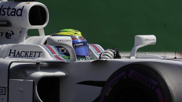 Jezdec Williamsu Felipe Massa.