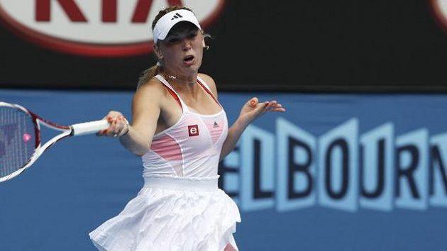 Caroline Wozniacká na Australian Open