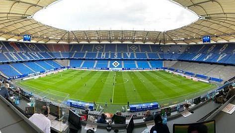 Stadion HSV, ilustrační snímek.