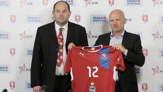 Miroslav Pelta a Michal Bílek ještě v době před Dánskem.