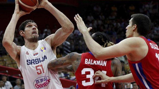 Basketbalisté Srbska si bez problémů poradili s Portorikem