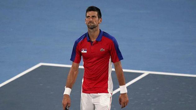 Srbský tenista Novak Djokovič (ilustrační foto)
