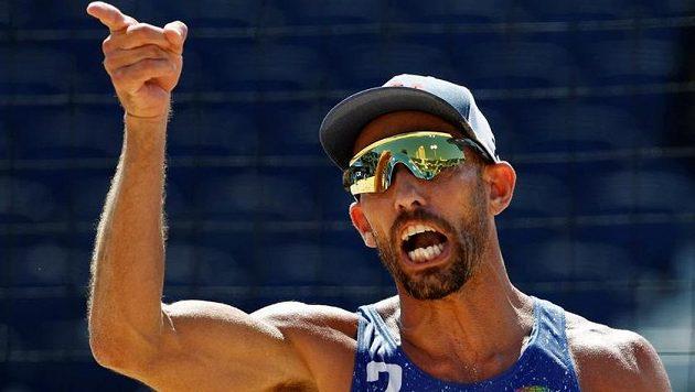 Olympijský vítěz a mistr světa v plážovém volejbalu Phil Dalhausser