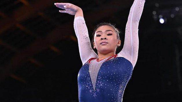 Gymnastka Sunisa Leeová mohla být se svým výkonem spokojená
